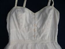 Woman's Dress American Eagle Outfitters S/P Lace Under Slip Dress