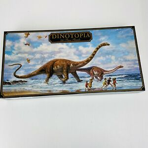 DINOTOPIA Vintage 1993 750 Piece Jigsaw Puzzle 'Seaside Romp'