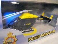 MODEL POLICE HELICOPTER WEST MIDLANDS POLICE MD EXPLORER Chopper Helicopter Gift