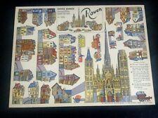 Rare superbe ancienne planche à découper Rouen Gildas TTBE