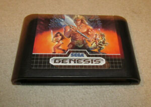 Golden Axe (Sega Genesis) Authentic Fun Game Nice Shape