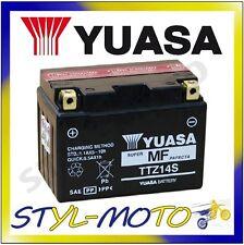 YTZ14 S TTZ14S BATTERIA ORIGINALE YUASA CON ACIDO HONDA 750 NC 750X 2014