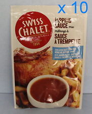 Swiss Chalet Dipping Sauce 10 Packs 36g each 25% Less Sodium From Canada