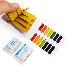 160 pH Test Strips Alkaline Acid 1-14 Paper Litmus Tester Lab Urine Saliva Hot