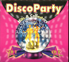 DISCO PARTY - HITS & COLLECTORS - 2 CD COMPILATION DIGIPACK
