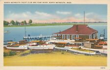 NORTH WEYMOUTH MA – North Weymouth Yacht Club and Fore River