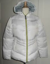 Superbe doudoune blanche TOMSTER USA , taille 36 , NEUVE !