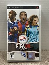 FIFA 08 Soccer (PSP) - Case & Manual No Game Free Shipping