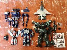 Lot Of 5 - Misc Transformers Action Figures- Soundwave, Grimlock, Swoop, Etc.