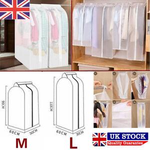 Clothes Garment Suit Dress Wardrobe Storage Bag Dust Coat Protector Cover Case