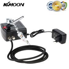 KKmoon 100-240V Dual Action Airbrush Kompressor  Kit für Kunst Malerei Spray