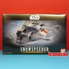 Bandai [Star Wars] 1/48 & 144 Snowspeeder (2 models) plastic model kit #0217734