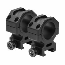 """NcStar VR30T11 Tactical Series 30mm 1"""" Scope Rings Fits Weaver & Picatinny Rifle"""