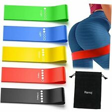 Resistance Bands, Exercise Workout Bands for Women and Men, 5 Set of Stretch