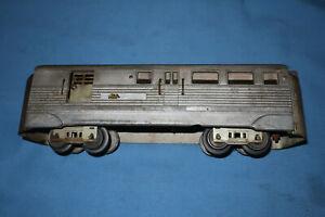 American Flyer Pre-war #9911 Burlington Zephyr Cast Aluminum REA Baggage Car