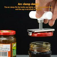 Adjustable Jar Opener, Stainless Steel Lids Off Jar Opener Bottle Cap Removers