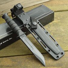 Ka-Bar Kraton G Handle Short Fighting Utility Knife 1095 Steel Kydex Sheath 1258