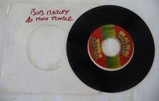 BOB MARLEY WAILERS « SO MUCH TROUBLE » TUFF GONG VINYL 45 T / REGGAE