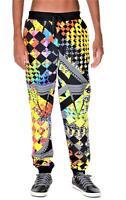 Versus Versace Mens Printed Jogger Track Sweat Pants Small