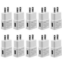 10x 2A Wall Charger Power Adapter AC Home US Plug For iPhone 8 X Samsung LG HTC