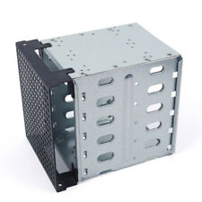 """Disque dur SATA SAS HDD Cage Rack de 5,25 """"à 5x 3,5"""" avec espace de ventilation"""