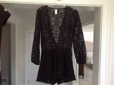 ced28b7c12 Zimmermann black playsuit All Lace. Worn once