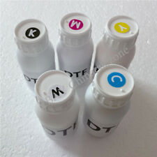 500ML 5Color DTF INK For Epson UV Printer Colorful UV INK FOR 1390 L800 DX5 Head