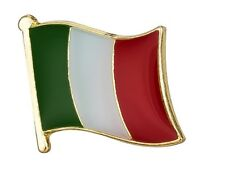 Italy Flag Pin Lapel Badge Italian High Quality Gloss Enamel