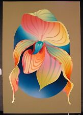 """Original Serigraph by Marcel """"On the Pols of Quive"""""""