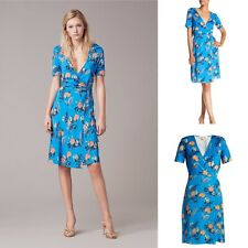 £479 Iconic DVF Dress, Diane Von Furstenberg Dress, Lily Pure Silk Dress Size 14