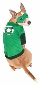 Green Lantern Pet Costume, DC Superhero Comics, Dog Halloween Cosplay ComicCon