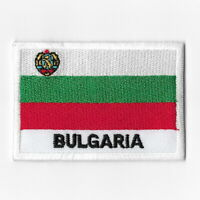 Bulgaria National Flag Iron on Patches Embroidered Applique Badge Emblem