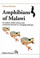 Amphibians of Malawi - An analysis of their richness and community diversity.
