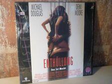 ENTHÜLLUNG Sex ist Macht - LASERDISC LD - Michael Douglas Demi Moore