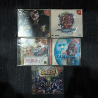 SEGA Dreamcast NTSC-J Games Bundle