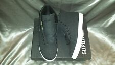 SUPRA THUNDER CHARCOAL WOOL SUIT MENS SHOES SIZE 12 NEW IN BOX