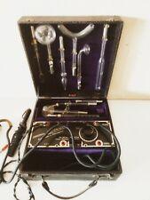 antike GEISSLER Hochfrequenz Elektrotherapie Elektrostimulation Reizstromgerät