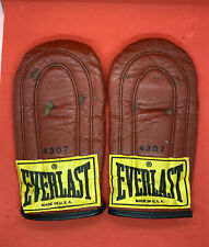 VINTAGE EVERLAST 4307 WEIGHTED SPEED BAG BOXING TRAINING GLOVES