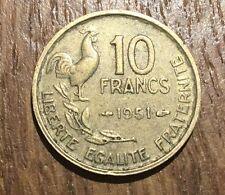 PIECE DE 10 FRANCS GUIRAUD 1951 (185)