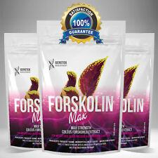 FORSKOLIN 1500mg x60 Capsules - Coleus Forskohlii Extract Weight Loss Fat Burner