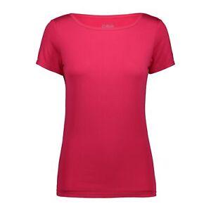 CMP Functional Shirt Woman T-Shirt Breathable Elastic Plain