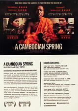 A CAMBODIAN SPRING FILM POSTCARDS X 2