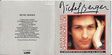CD MICHEL BERGER LES PLUS BELLES CHANSONS 12T BEST OF 1981