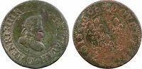 Henri IV, double tournois, 1608 Lyon - 118