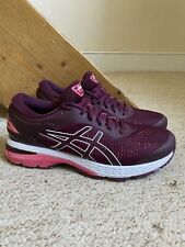 Used Women's ASICS Gel Kayano 25 Trainers/Shoes Pink UK Sz. 7.5