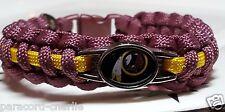 Washington Redskins Burgundy & Gold Paracord Bracelet or Lanyard or Key Chain