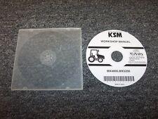 Kubota MX4800 & MX5200 Tractor Workshop Shop Service Repair Manual DVD