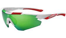 SALICE 012 ITA RWP WHITE frame GREEN iridium POLARIZED lens sunglasses cycling