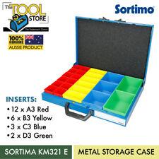 SORTIMA METAL CASE A/B/C/D MIXTURE INSERTS SET