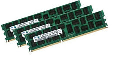 3x 8gb 24gb ddr3 di RAM pc3-10600r HP Part # 500662-b21 + 500205-071